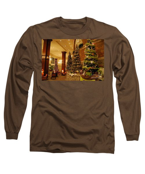 Christmas Tree Long Sleeve T-Shirt by Eric Liller