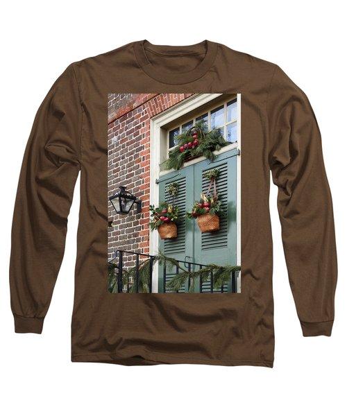 Christmas Welcome Long Sleeve T-Shirt