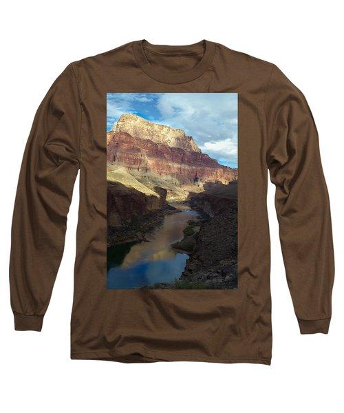 Chuar Butte Colorado River Grand Canyon Long Sleeve T-Shirt