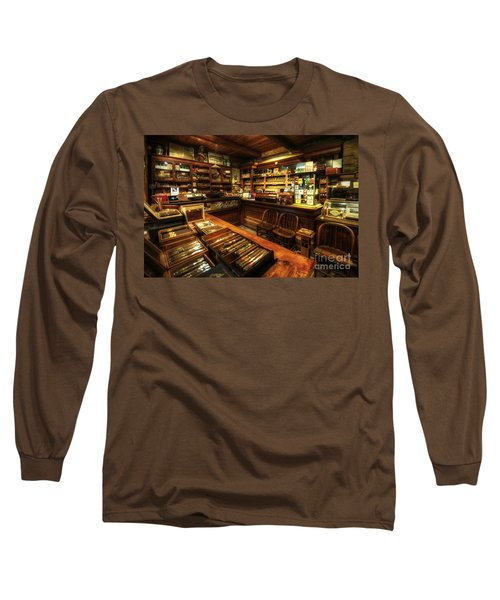 Cigar Shop Long Sleeve T-Shirt
