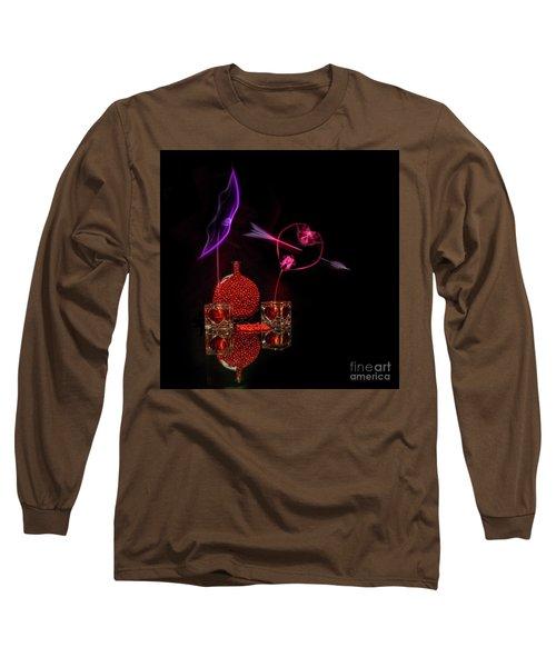 Cinnamon Hearts Long Sleeve T-Shirt