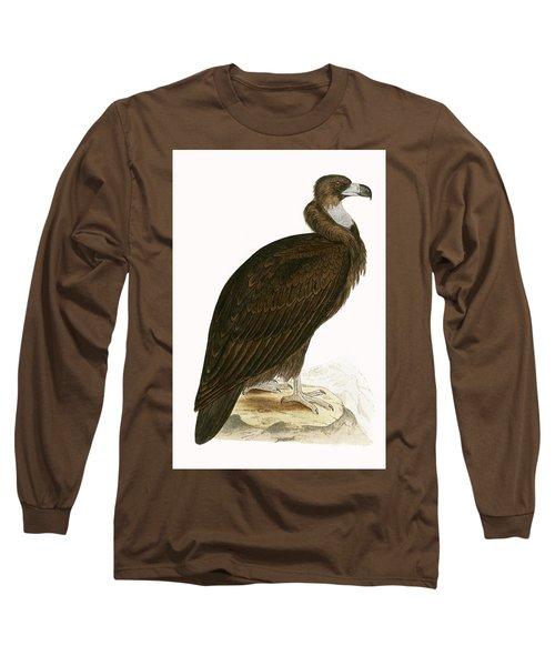 Cinereous Vulture Long Sleeve T-Shirt