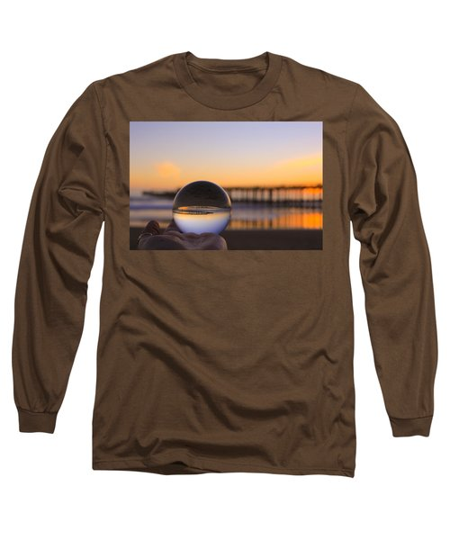 Long Sleeve T-Shirt featuring the photograph Circles by Lora Lee Chapman