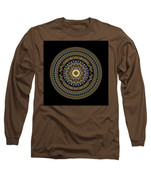 Circularium No 2643 Long Sleeve T-Shirt by Alan Bennington