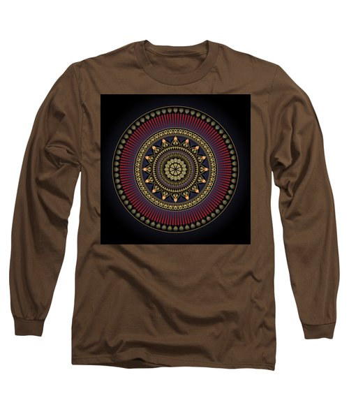 Circularium No 2649 Long Sleeve T-Shirt by Alan Bennington