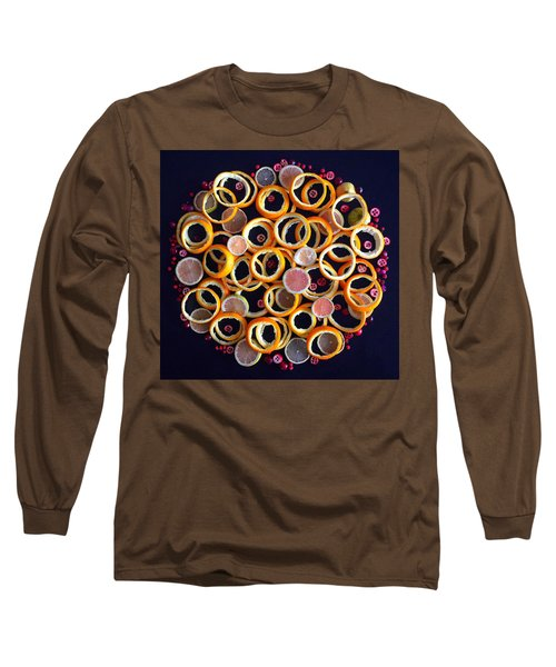 Citrus Delight Long Sleeve T-Shirt