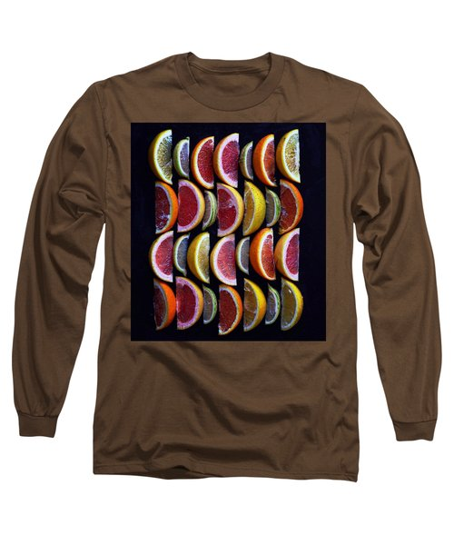 Wavy Citrus Lineage Long Sleeve T-Shirt