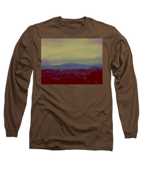 Long Sleeve T-Shirt featuring the digital art City Of Dream by Dr Loifer Vladimir