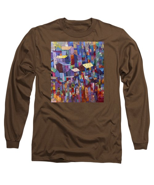 City Scape 1 Long Sleeve T-Shirt by Ronex Ahimbisibwe