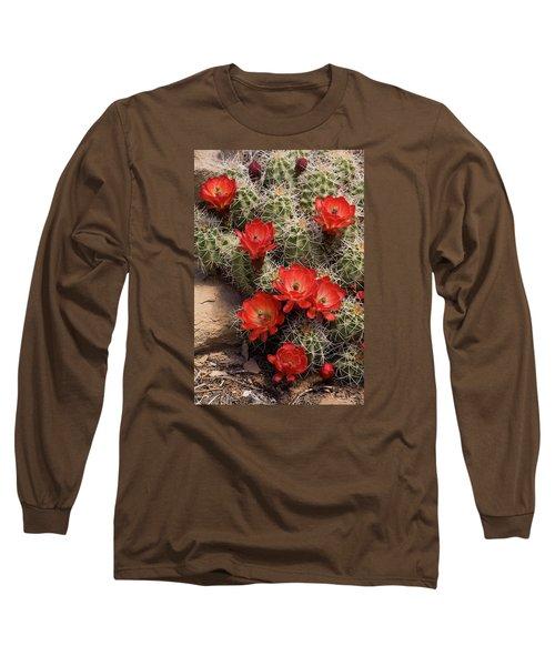 Claret Cup Cactus Long Sleeve T-Shirt