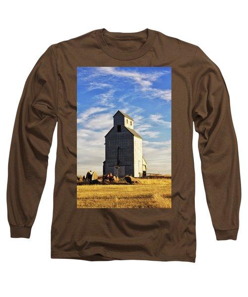 Classic Grain Elevator Long Sleeve T-Shirt