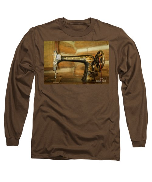 Classic Singer Human Interest Art By Kaylyn Franks Long Sleeve T-Shirt