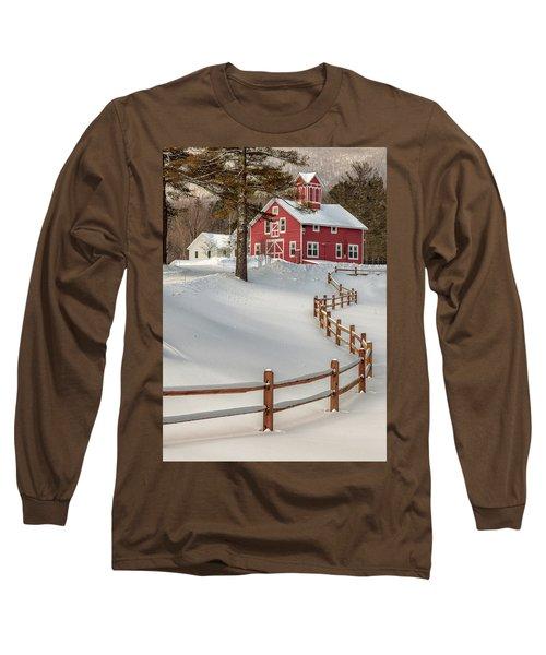 Classic Vermont Barn Long Sleeve T-Shirt