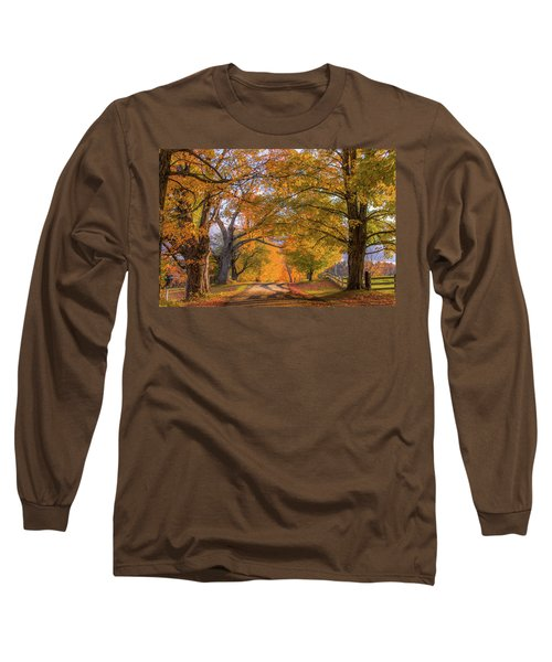 Classic Vermont Fall Long Sleeve T-Shirt