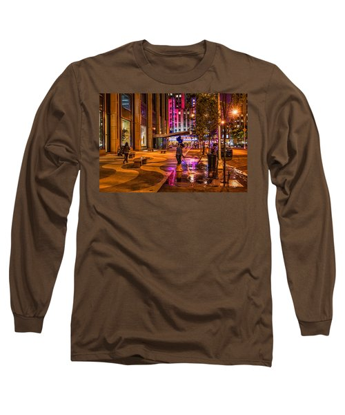Cleaning With Neon Long Sleeve T-Shirt