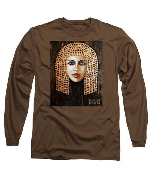 Cleopatra Long Sleeve T-Shirt by Arturas Slapsys