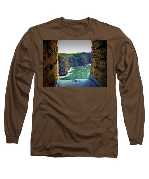 Cliffs Personalized Long Sleeve T-Shirt