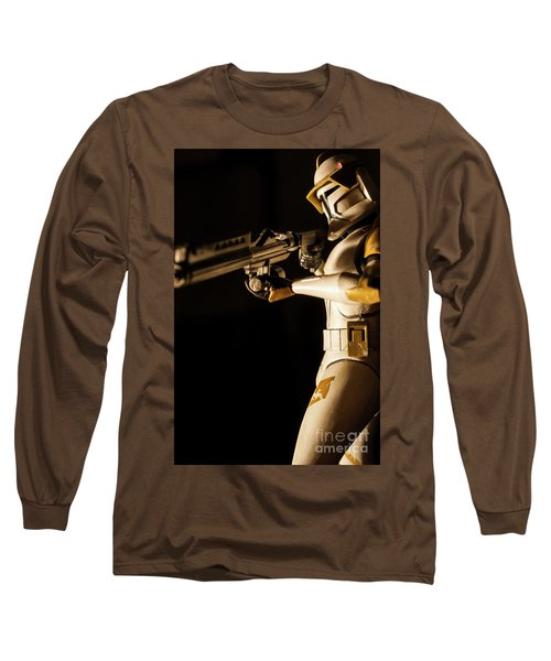 Long Sleeve T-Shirt featuring the photograph Clone Trooper 6  by Micah May