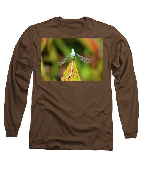 Clown Face Dragonfly Long Sleeve T-Shirt