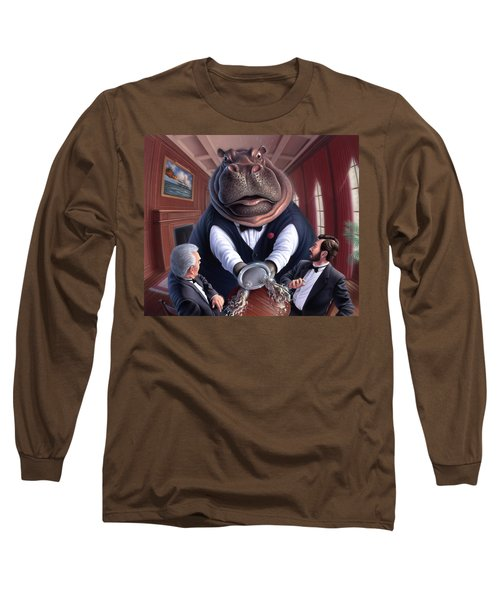 Clumsy Long Sleeve T-Shirt