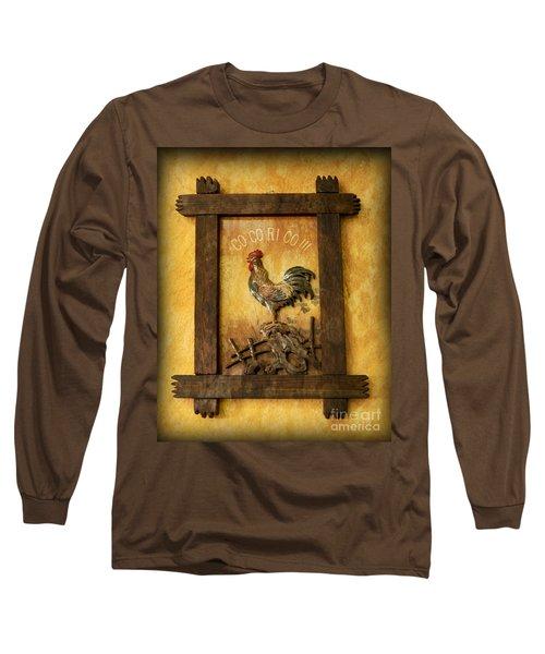 Co Co Ri Co Cockerel Long Sleeve T-Shirt
