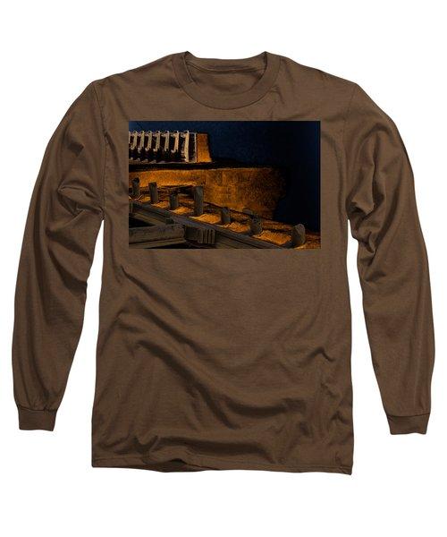 Coastal Embankment Long Sleeve T-Shirt by Don Gradner