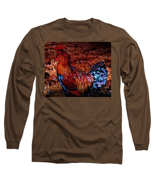 Cock Rooster Long Sleeve T-Shirt