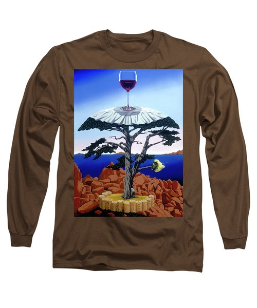 Cocktail Hour Long Sleeve T-Shirt