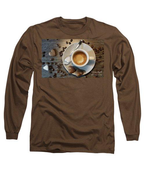 Coffee #1 Long Sleeve T-Shirt