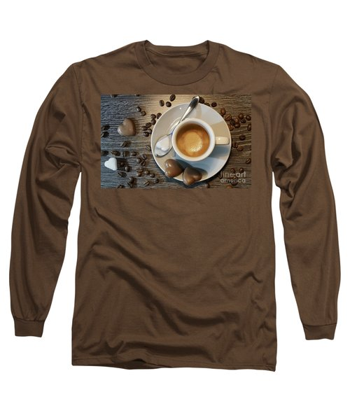 Coffee #1 Long Sleeve T-Shirt