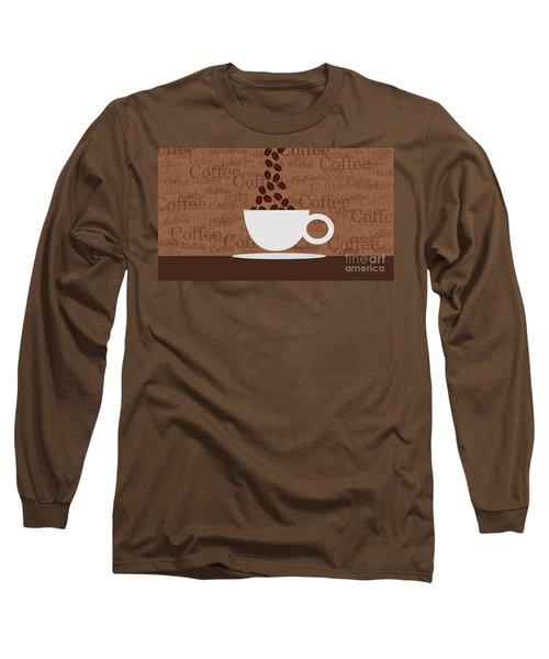 Coffee #3 Long Sleeve T-Shirt