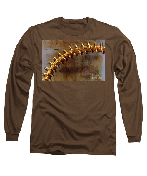 Long Sleeve T-Shirt featuring the photograph Coiled By Kaye Menner by Kaye Menner