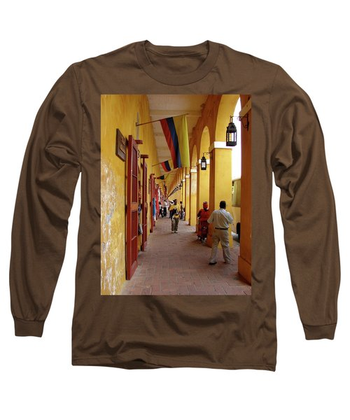Colombia Walkway Long Sleeve T-Shirt