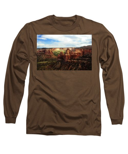 Colorado National Monument Long Sleeve T-Shirt by Marilyn Hunt