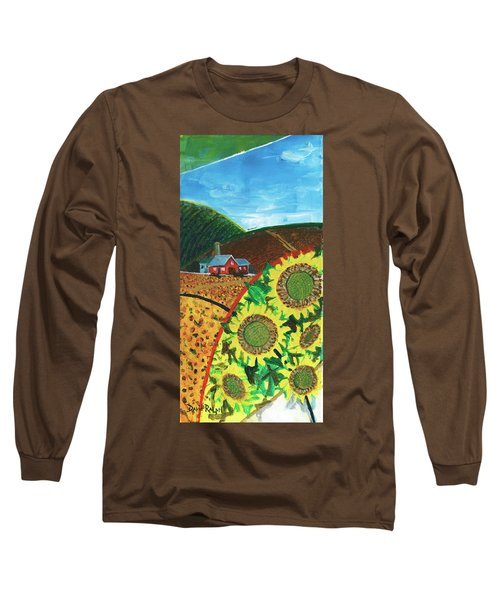 Colorado Sunflowers Long Sleeve T-Shirt