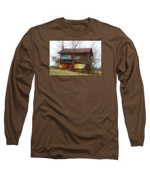 Colorful Barn Long Sleeve T-Shirt