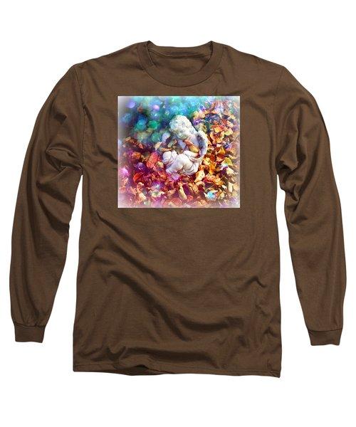 Colorful Cherub Long Sleeve T-Shirt