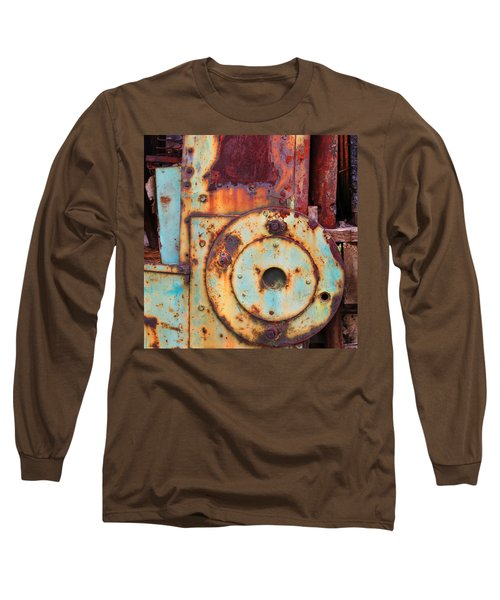 Colorful Industrial Plates Long Sleeve T-Shirt