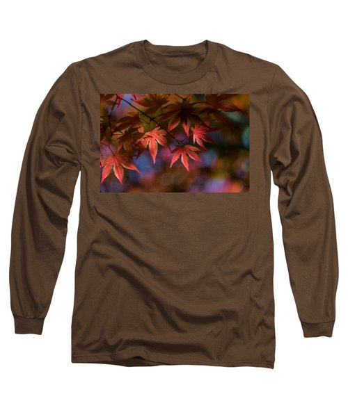 Colorful Japanese Maple Long Sleeve T-Shirt