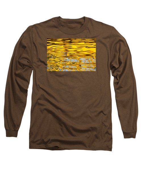 Colorful Reflection In The Water Long Sleeve T-Shirt by Odon Czintos