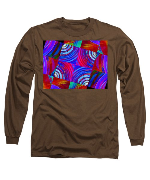 Colorful Squares Long Sleeve T-Shirt