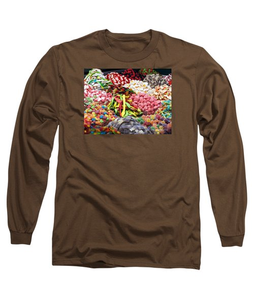 Long Sleeve T-Shirt featuring the photograph Colors And Sweet by Arik Baltinester