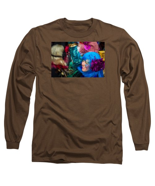 Colors Of Carnival Long Sleeve T-Shirt