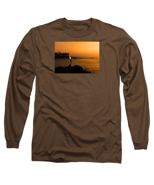 Colors Of Waikoloa Hawaii Long Sleeve T-Shirt by Kerri Ligatich
