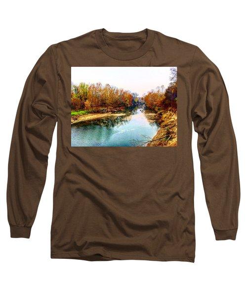 Colours Along Mill Creek Long Sleeve T-Shirt