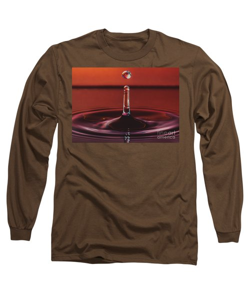 Column With Impending Droplet Long Sleeve T-Shirt