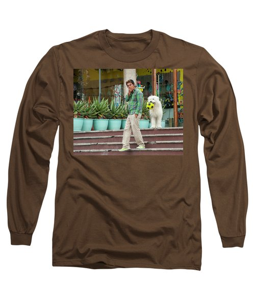 Come On And Play Long Sleeve T-Shirt