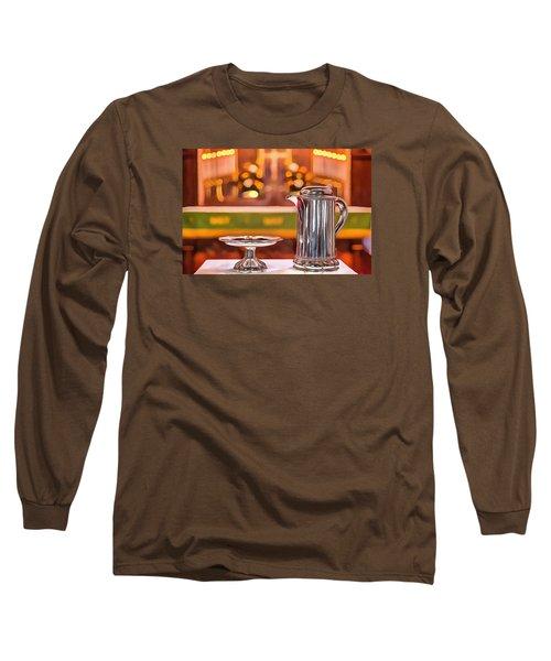 Communion Silver 1800 Long Sleeve T-Shirt by Jim Proctor