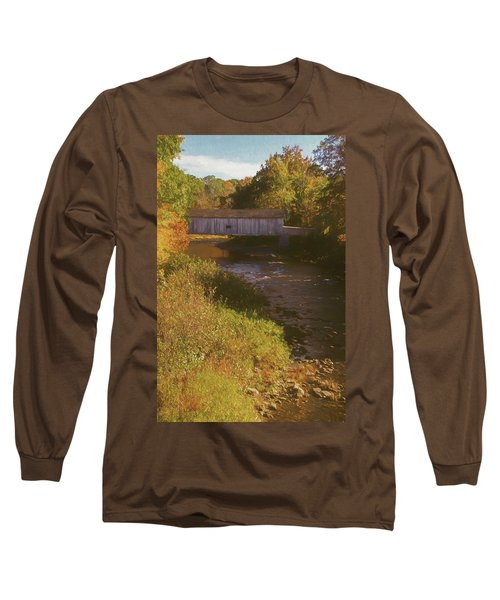 Comstock Covered Bridge Long Sleeve T-Shirt