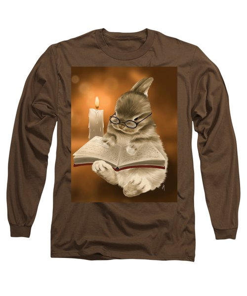 Long Sleeve T-Shirt featuring the painting Concentration  by Veronica Minozzi